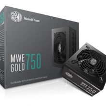 Fuente Cooler Master MWE Gold 750w